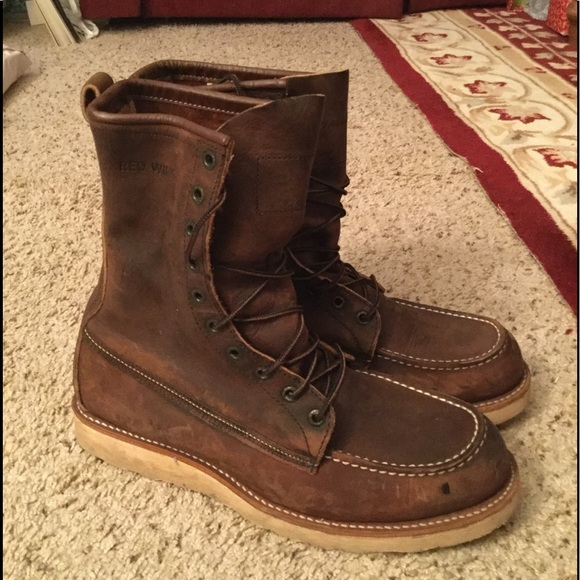 7d822689ec0f3 RED WING IRISH SETTER MEN LEATHER BOOTS 4586 RARE!